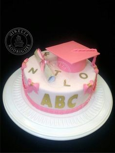Bolo formatura de ABC