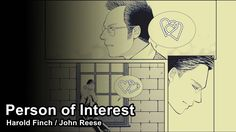 Harold Finch / John Reese - Fable Harold Finch, John Reese, Person Of Interest, Youtube, Youtube Movies