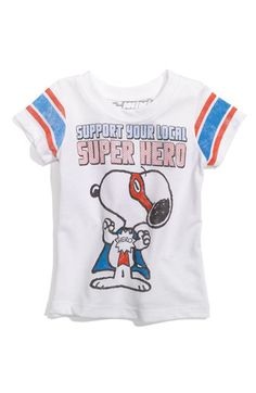 Not really vintage (yet), but an Awesome Snoopy Super Hero shirt!