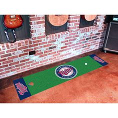 Minnesota Twins MLB Putting Green Runner (18x72)