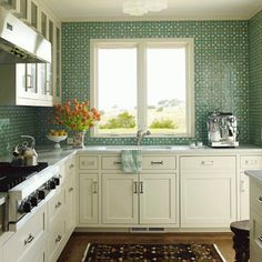 """""""I'm drawn to blues and greens in my interiors, water colors, because they are universally loved."""" - Design Trendsetter Katie Ridder 
