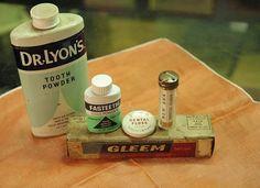 Vintage Dental Health Collection on Etsy, $16.00