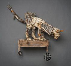 recycled art   Geoffrey Gorman