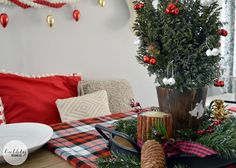 Holiday Home Tour 2014 // Bubbly Design Co.