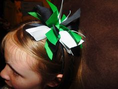 Check out this item in my Etsy shop https://www.etsy.com/listing/235946460/headband-with-ribbon-puff-hairbow