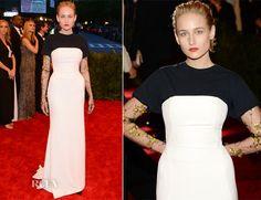Leelee Sobieski In Christian Dior Couture - 2013 Met Gala