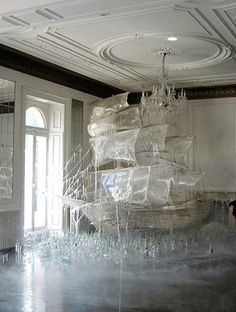 So this is an ice sculpture.