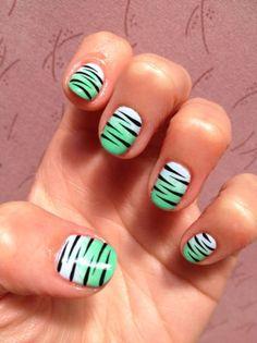 aqua tiger stripes