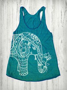 Hey, I found this really awesome Etsy listing at http://www.etsy.com/listing/156499423/ethnic-elephant-print-tri-blend-american