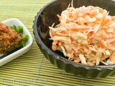 simple, tasty, fresh Nigerian coleslaw