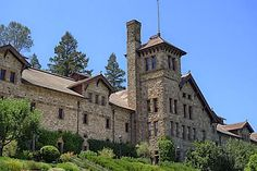 Napa Valley Pictures: First Brandy, Then Cuisine: CIA Greystone - Christian Brothers