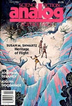 analog - a paperback/magazine periodical that i grew up with. going to the library weekly to read new & old issues. this is how i cut my teeth on sci-fi....