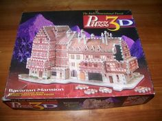 PUZZ 3D BAVARIAN MANSION Puzzle WREBBIT 418 pieces Average Difficulty #Wrebbit