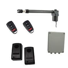 Οικονομικό, πλήρες κιτ μονόφυλλης δεξιάς ανοιγόμενης γκαραζόπορτας το οποίο περιλαμβάνει: ένα μοτέρ MPC SW400 (δεξί), πινακοδέκτη ProfelmNet 2114 σε στεγανό πλαστικό κουτί, σετ ενσύρματα φωτοκύτταρα ασφαλείας και δύο τηλεχειριστήρια. Usb Flash Drive, Electronics, Phone, Telephone, Mobile Phones, Consumer Electronics, Usb Drive