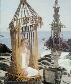 yea - macrame is on the list - anyone want to help me make one of these - we can share it?