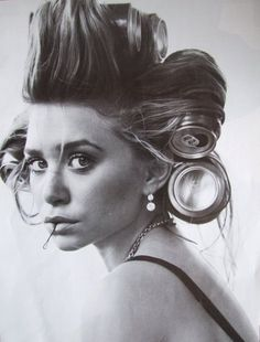 Mary-Kate (or Ashley) Olsen.