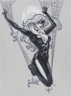 another Black Cat by ~MichaelDooney on deviantART  Auction your comics on http://www.comicbazaar.co.uk