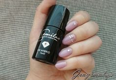 057 Nude Beige Roses Nail Manicure, Nail Polish, Nails, Ongles Beiges, Shellac, Nail Colors, Roses, Nude, Style