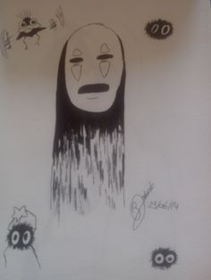 """No Face"" - Spirited Away"