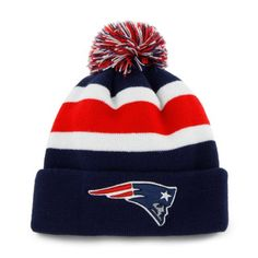 New Era NFL Beanie New England Patriots Navy Color Rush On Field Cuffed Knit Hat