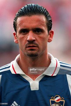 Football, European Championships (EURO 2000), Sclessin Stadium, Liege, Belgium, Yugoslavia 1 v Norway 0, 18th June, 2000, A portrait of Yugoslavia+s Predrag Mijatovic