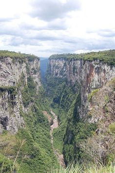 Itaimbezinho Canyon Serra Gaucha, Rio Grande do Sul, Brazil. http://internationalliving.com/countries/brazil/