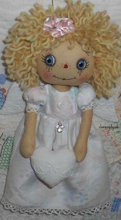 E Pattern11 inch Angel Annie Raggedy Ann Doll von charmingsbycmh