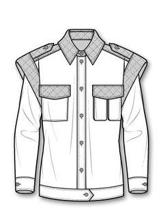 Epaulets on jacket Fashion Illustration Sketches, Fashion Sketchbook, Fashion Sketches, Design Illustrations, Fashion Design Portfolio, Fashion Design Drawings, Drawing Fashion, Fashion Design Template, Fashion Templates
