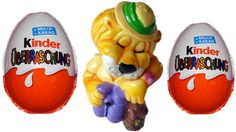 Kinder Surprise eggs I Fortissimi Leo Venturas (1993)