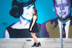 Another black dress that I can't get enough of, today on #SoulinStilettos! Photos by my fave, @christieomp  #LBD #Wynwood #fashion #Miami#Blog