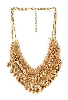 Collar dorado ♥