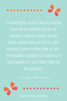 QUOTE: Andy Andrews (BLOG POST @ Nut Free Nerd)