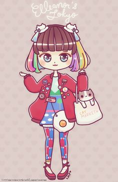 Elleanor feature at Japan Lover Me ♥ She's so cuteee >3< So fun to draw too ~