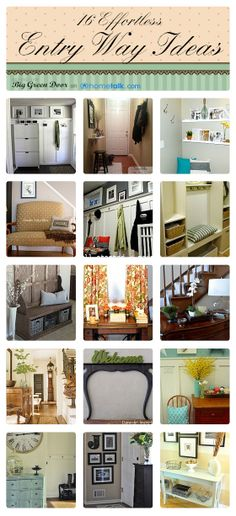 16+ great Entryways from Hometalk.com