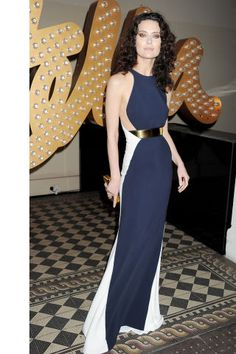 In honor of Canada Day, we've rounded up the most stylish Canadian celebs: Shalom Harlow in Stella McCartney.