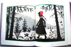 Little Red Riding Hood (Rotkäppchen), illustrated by Divica Landrová, Czech Republic, 1959. Fairy Tales by TASCHEN