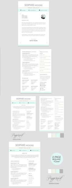 Simple Resume Template Pages  Word Resume Templates Resume - resume template for pages