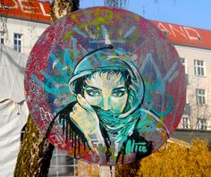 Alice Pasquini - Graffiti Woman