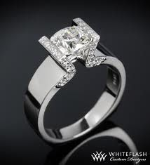 square band engagement rings - Google Search