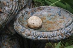 A wonderful roundish stone arrived in the mail especially to be placed in…