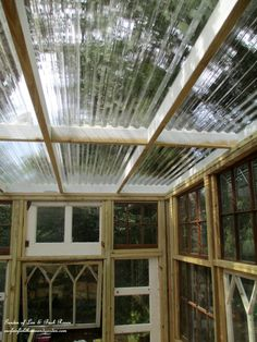 Building a Repurposed Windows Greenhouse – Our Fairfield Home & Garden Diy Greenhouse Plans, Greenhouse Farming, Backyard Greenhouse, Small Greenhouse, Old Window Greenhouse, Victorian Greenhouses, Wooden Greenhouses, Build A Shed Kit, What Is A Conservatory