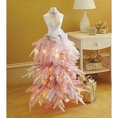 Member's Mark Premium 3' Dress Form Tree-Pink