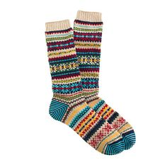 stocking stuffer for him: CHUP socks in fairsnow beige. (i'll admit i'm totally curious why they're $34 a pair and want some.)