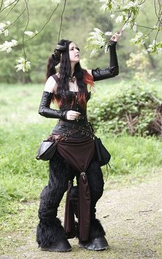 Fuck Yeah LARP, fauning-around: Elf Fantasy fair Haarzuilens,... I'd love to do a faun costume someday!