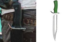 Original Negan knife walking dead cosplay