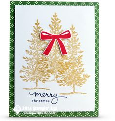 CARD: Lovely as a Tree Christmas