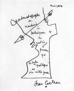 Jean Cocteau zeichnungen