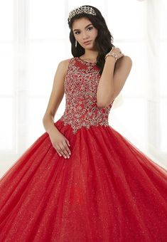 Beaded Glitter Quinceanera Dress by Fiesta Gowns 56358-House of Wu Fiesta Gowns-ABC Fashion