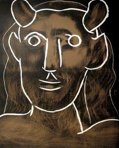 Tête de Faune   Pablo Picasso, Tête de Faune (1962)