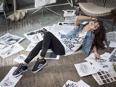 Селена Гомес в промо-фотосессии для марки «Adidas NEO»